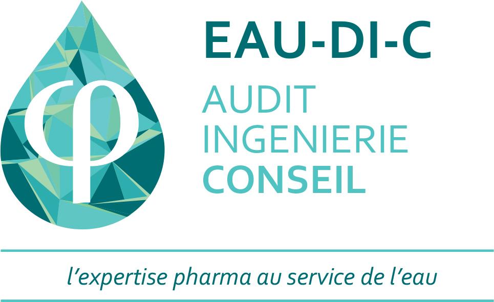 Logo Eau Di C, Audit, Ingénierie, Conseil, eau purifiée